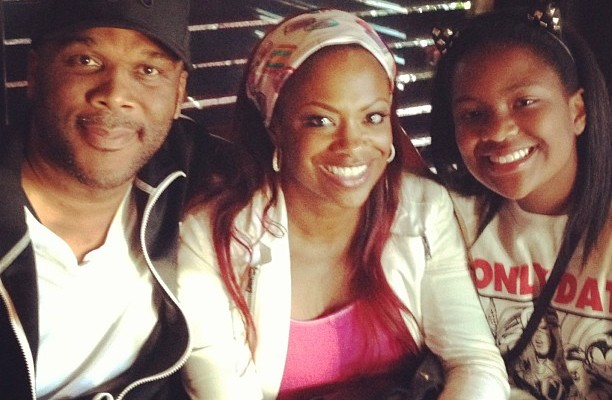 Kandi Amp Daughter Riley Meet Tyler Perry See The Pics