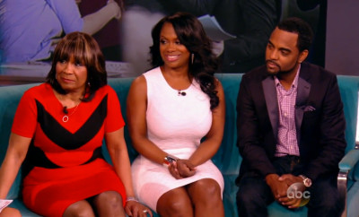 Kandi Burruss Mama Joyce Todd Tucker On The View