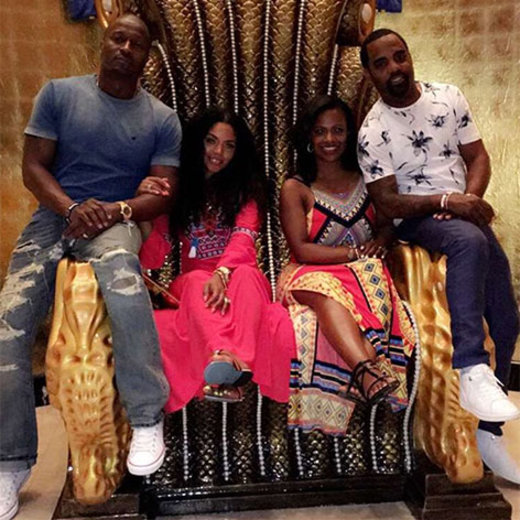 It's only right that Kandi and Rasheeda made time for their favorite guys for some well-deserved couples time.