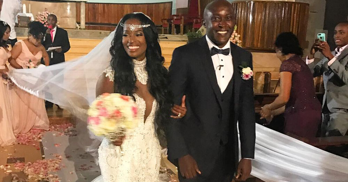 RHOA Pal Shamea Morton Marries Gerald Mwangi In Beautiful Kenyan Ceremony